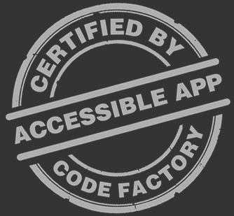 Accessible app certificate