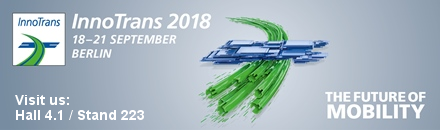 Visit Code Factory's at InnoTrans, hall 4.1, stand 223, 18-21 September 2018, Berlin Messe, Germany